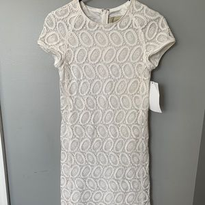 White lace Burberry London dress